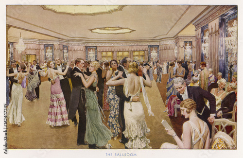 Dance at the Dorchester. Date: 1931