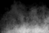 Fog or Smoke on black Background - 162484678