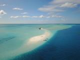 atoll calédonien province sud ile des pins, vue aérienne. - 162499289