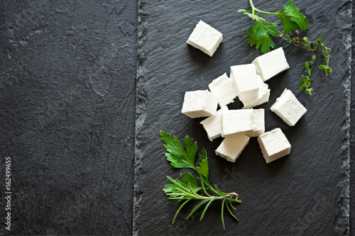 Fototapeta Greek Feta Cheese