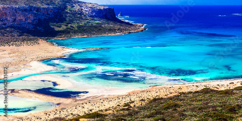 Greece - most beautiful beaches series - Balos bay in Crete island