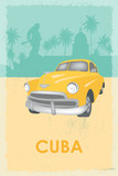 Cuba retro poster