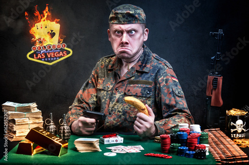 Casino player плакат