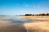 Idyllic beach in the Gambia, West Africa - 162555841