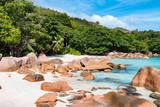 Idyllic beach, Anse Lazio, Praslin, Seychelles - 162556464
