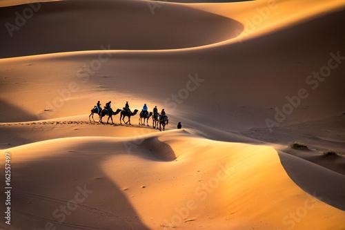 Fotobehang Marokko Sahara Desert, Morocco