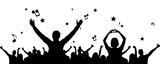 Silhouette Fans Konzert - 162563033