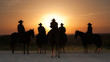 Ranch hands at Sunrise