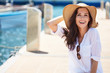 Beautiful young woman on vacation. Summer concept.