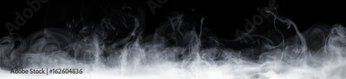 Leinwanddruck Bild Abstract Smoke In Dark Background