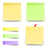 Post blank sticky note paper sheet vector  Reminder stick note  - 162638640