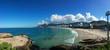 Quadro Panoramic view of the famous Ipanema beach in Rio de Janeiro Brazil