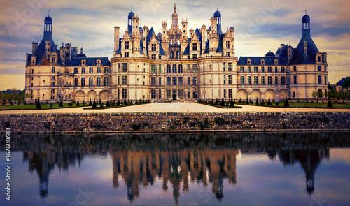 Chambord castle - greatest masterpiece of Renaissance architecture. France