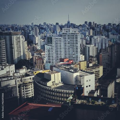 Plagát São Paulo cityscape