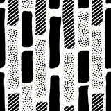 Abstract Textured Shapes Pattern - 162735017