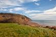 A view of the famous Cape Split or Blomidon Provincial park in Nova Scotia