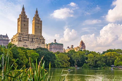 Central Park New York City looking towards the Upper West Side. Poster
