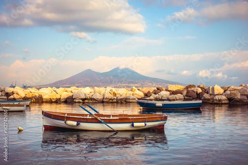 Fotobehang Napels Vesuvius