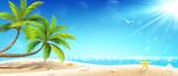 Tropical island. Vector - 162752074