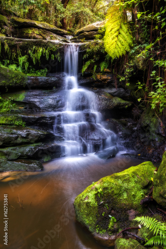 Staande foto Sydney Small waterfall in Sydney