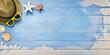 Holiday, summer, vacation, banner