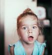 Quadro Kid funny face