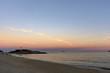 Quadro Landscape of Arpoador beach in Rio de Janeiro during dusk