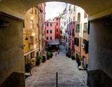 Fototapety Genova ha il piu' esteso centro storico d'europa