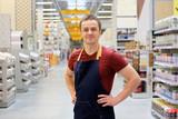 salesman at construction super store - 162806419