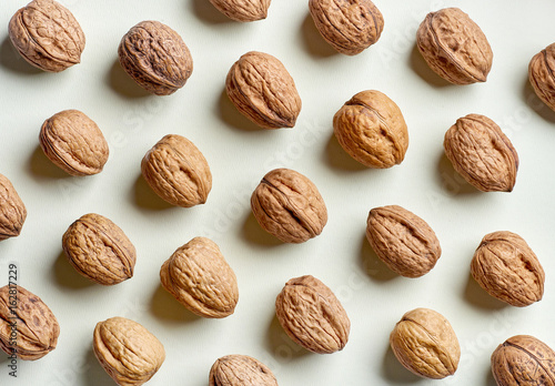 pattern of walnuts - 162817229