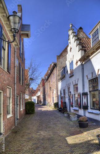 Street in Amersfoort, Holland