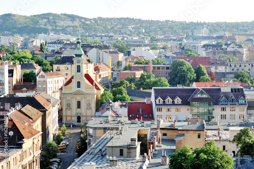 Budapest, Hungary - panoramic day view of the city