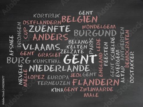 Keuken foto achterwand Antwerpen Gent