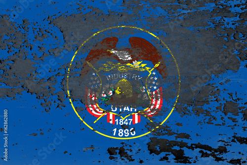 The Flag Of Utah