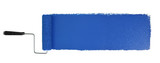 Paint Roller With Logn Blue Stroke - 162874214