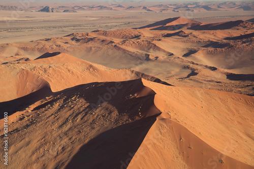 In de dag Oranje eclat Desert landscape