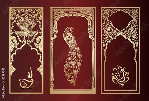 Plakát Hindu icons, Hinduism ,cultural heritage , India , Asia
