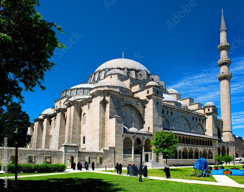 Suleymaniye Mosque in Istanbul Poster