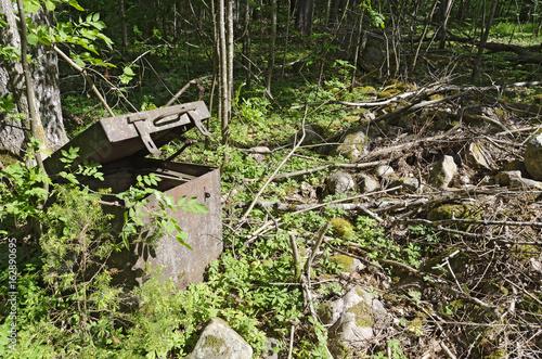 broken-up iron case