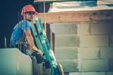 Resting Caucasian Worker - 162893894