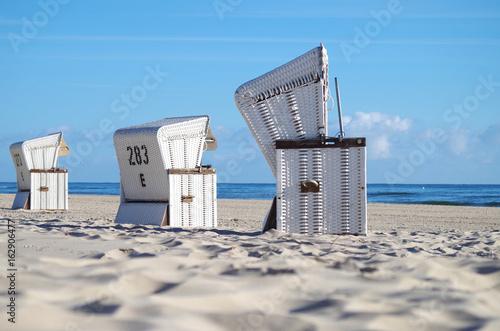 Strandkörbe an der Ostsee