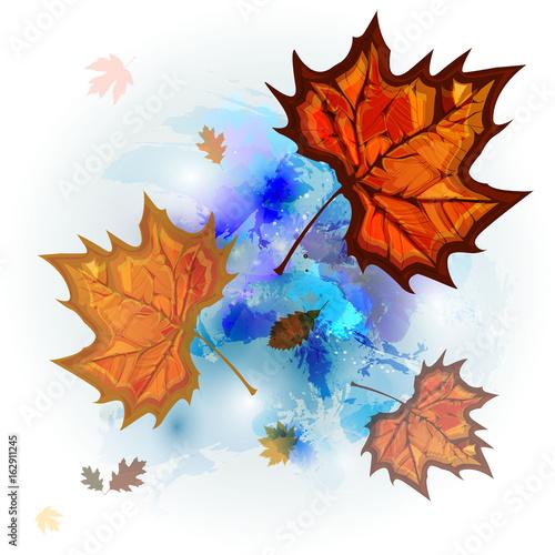 watercolor_leaves