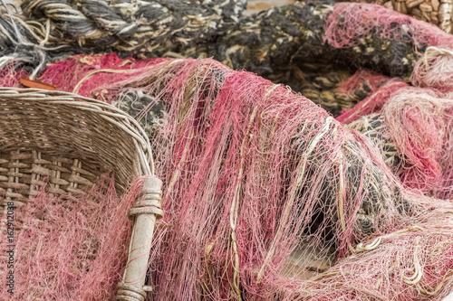 cordages et filets de pêche