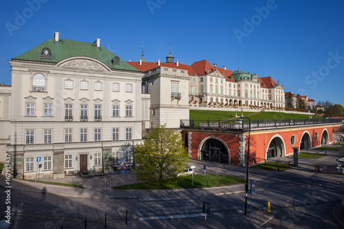 Copper-Roof Palace and Royal Castle in Warsaw, Poland