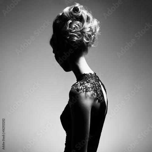 Fotobehang Women Art Elegant woman