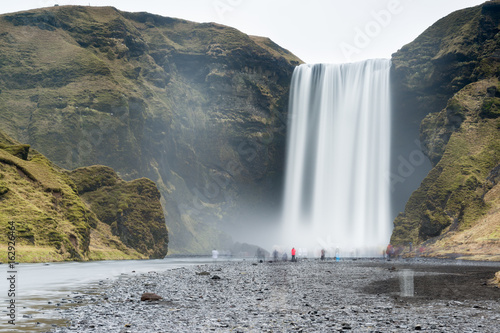 Cascata di Skogafoss, Islanda - 162926464