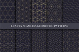 Fototapety Luxury seamless ornamental patterns - geometric rich design.