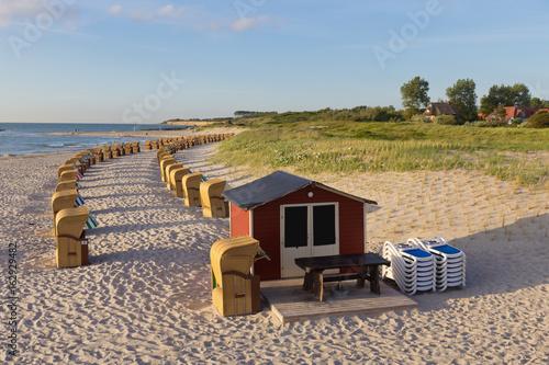 Foto op Aluminium Strand Abenstimmung an der Ostsee