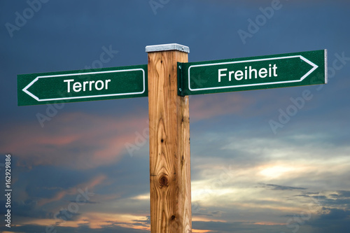 Schild 237 - Terror