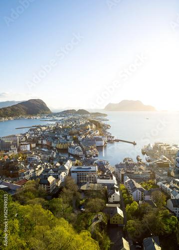 Plagát Alesund skyline, Norway
